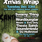 x-mas-wrap-10th-anniversary-w-swamp-thing-wordburglar-and-more