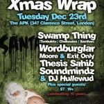x-mas-wrap-10th-anniversary-w-swamp-thing-wordburglar-and-more